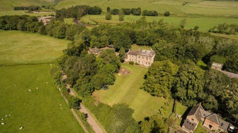 A house, land and a portfolio of eight cottages in Alnwick, Northumberland, NE66. 8 bedroom detached house for sale