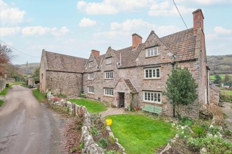 Butts Batch, Compton Bishop, Axbridge, Somerset, BS26. 7 bedroom detached house for sale