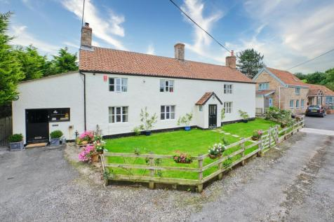 Banwell Road, Locking, Weston-super-Mare, Somerset, BS24. 5 bedroom detached house for sale
