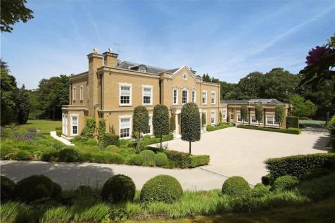 East Drive, Wentworth, Virginia Water, Surrey, GU25. 6 bedroom detached house