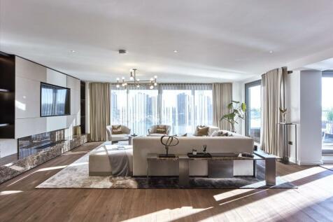 Chelsea Waterfront, Lots Road, London, SW10. 4 bedroom flat for sale