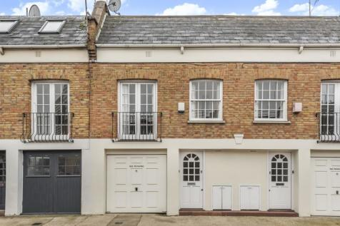 Royal Crescent Mews, Holland Park, W11. 1 bedroom terraced house