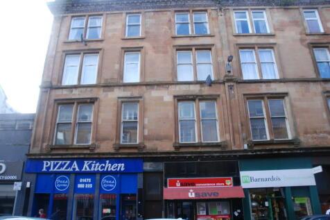 West Blackhall Street, GREENOCK UNFURNISHED. 2 bedroom flat