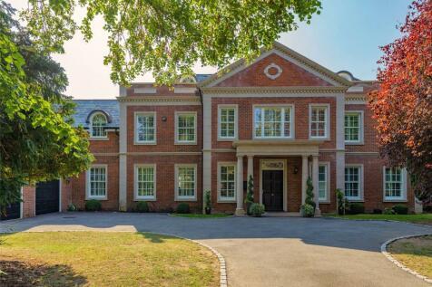 Icklingham Road, Cobham, Surrey, KT11. 7 bedroom detached house for sale