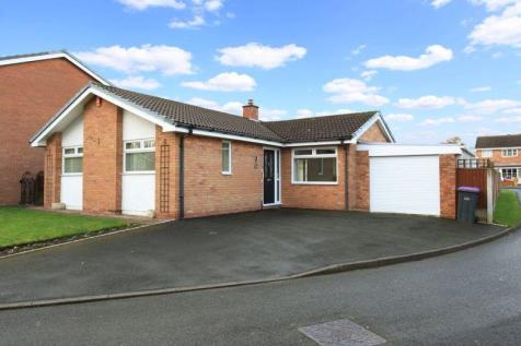 Auster Close, Telford. 2 bedroom detached bungalow