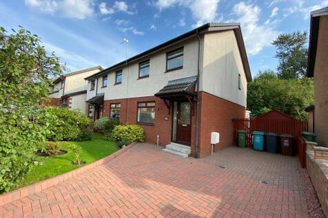Wards Crescent, Coatbridge, Lanarkshire, ML5. 3 bedroom semi-detached villa