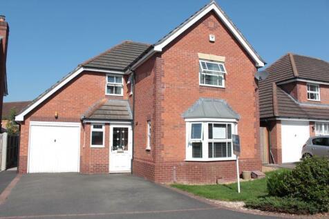 Hallam Drive, Berwick Grange, Shrewsbury, SY1 4YE. 4 bedroom detached house