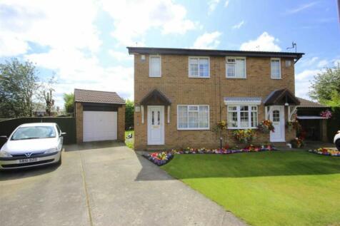 Stanhope Close, Meadowfield, Durham. 2 bedroom semi-detached house