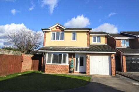 Gresham Close, Darlington. 4 bedroom detached house for sale