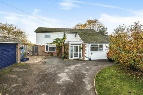 Burhill Road, Hersham, Walton-On-Thames, KT12. 4 bedroom detached house for sale