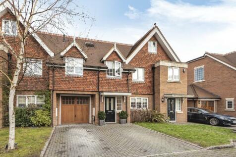 Millers Close, Hersham Road, Walton On Thames, KT12. 4 bedroom terraced house for sale