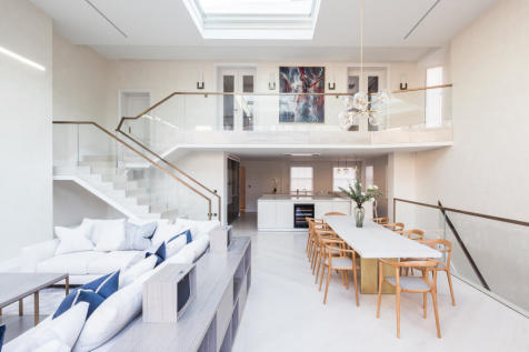 Bedford Gardens, Kensington, London, W8. 7 bedroom semi-detached house for sale