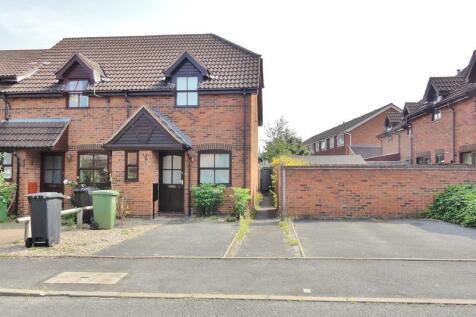 Elgar Close, Ledbury, Herefordshire, HR8. 2 bedroom end of terrace house