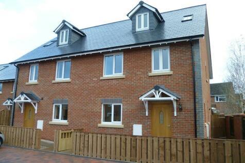 Ellenscroft Court, New Street, Ledbury, Herefordshire, HR8. 3 bedroom semi-detached house