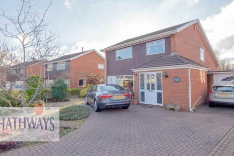 The Alders, Cwmbran, Torfaen, NP44. 4 bedroom detached house for sale