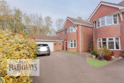 Lansdowne Gardens, Newport, South Wales, NP44. 4 bedroom detached house for sale