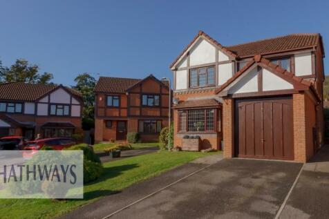 Gelli Fawr Court, Cwmbran, Torfaen, NP44. 4 bedroom detached house for sale