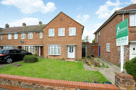The Larches, Hillingdon. 3 bedroom end of terrace house