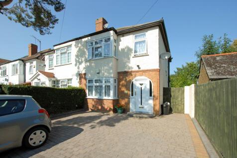 Pield Heath Road, Uxbridge. 3 bedroom semi-detached house