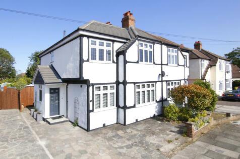 Valliers Wood Road, Sidcup. 4 bedroom semi-detached house