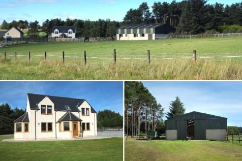 Twin Pines, Mossend, Mulben, Keith, Moray, AB55, Highlands and Islands - Detached / 4 bedroom detached house for sale / £380,000
