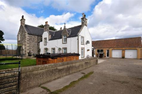 The Old Farmhouse, Auchenhalrig, Spey Bay, Fochabers, Moray, IV32. 4 bedroom detached house for sale