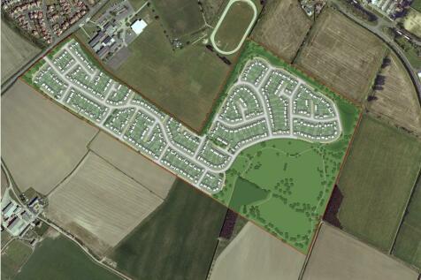 Land adjacent to Acklington Road, Amble, Northumberland. Land for sale