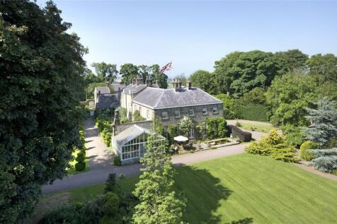 Glanton, Alnwick, Northumberland. 8 bedroom equestrian facility for sale