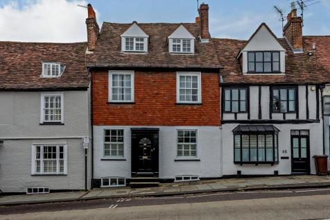 Holywell Hill, St. Albans, Hertfordshire. 4 bedroom town house for sale
