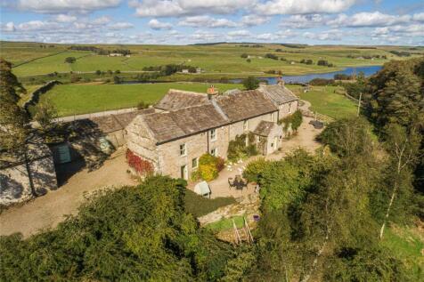 Baldersdale, Barnard Castle, County Durham. 6 bedroom detached house for sale