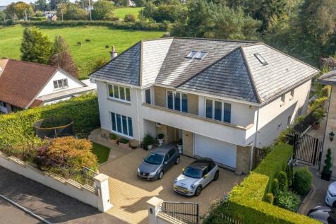 Burnside Road, Whitecraigs, Glasgow, G46. 5 bedroom detached house for sale