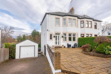 Woodvale Avenue, Giffnock, Glasgow, G46. 3 bedroom semi-detached house for sale