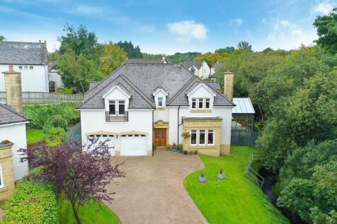 Eaglesham Road, Newton Mearns, Glasgow, G77. 5 bedroom detached house for sale
