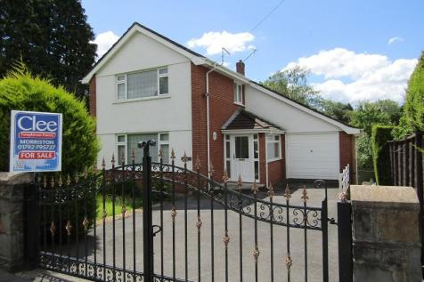 Park Road, Ynystawe, Swansea, City And County of Swansea.. 6 bedroom detached house