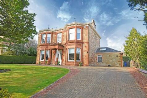 18 Sutherland Avenue, Pollokshields. 4 bedroom detached villa for sale