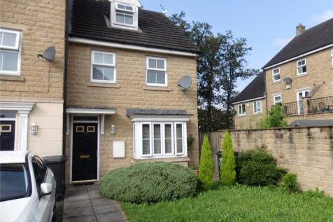 Spinners Close, Halifax, West Yorkshire, HX1. 3 bedroom end of terrace house for sale