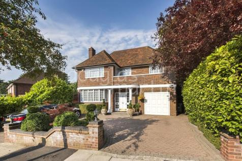 Manor Hall Drive, London NW4. 8 bedroom detached house