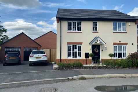 Randalls Drive, Crewe. 4 bedroom detached house