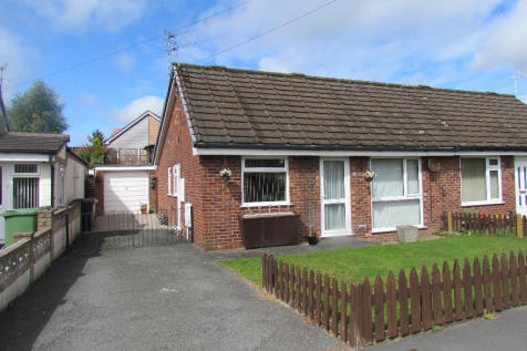 Windsor Road, Oswestry, Shropshire, SY11. 2 bedroom semi-detached bungalow