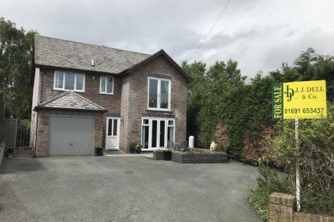 Silverbirch, Morda, SY10 9ND. 4 bedroom detached house