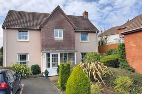 Newlands Road, Sidmouth. 4 bedroom detached house