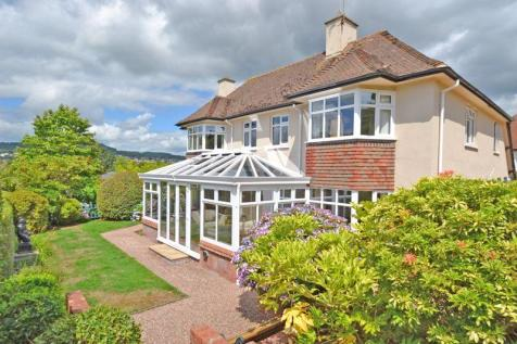 Sidcliffe, Sidmouth. 4 bedroom detached house