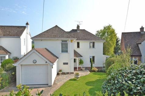 Newlands Close, Sidmouth. 3 bedroom detached house