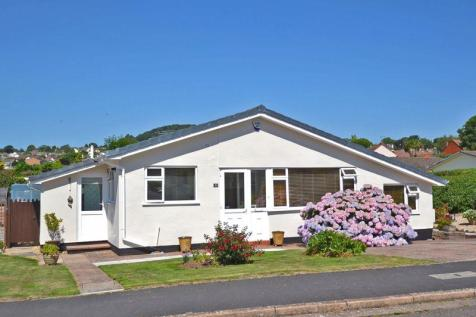 Malden Road, Sidmouth. 3 bedroom detached bungalow