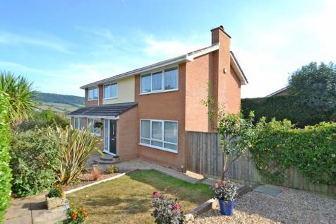 Malden Road, Sidmouth. 4 bedroom detached house