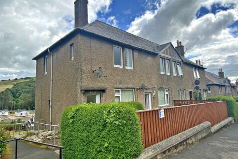 130 Wood Street, Galashiels, TD1 1QY. 2 bedroom flat