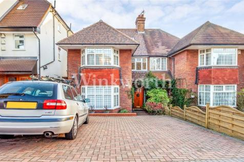 The Vale, Golders Green, London, NW11. 6 bedroom semi-detached house for sale