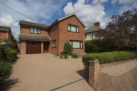 Canhams Road, Sudbury, Suffolk, CO10. 4 bedroom detached house
