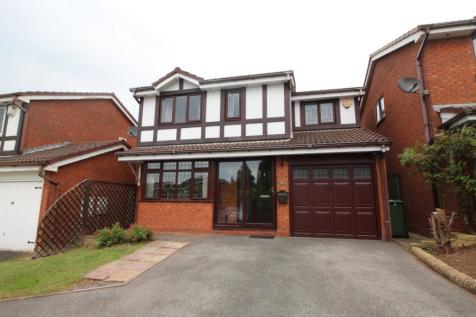 Hever Close, Milking Bank, Dudley, West Midlands, DY1. 4 bedroom detached house