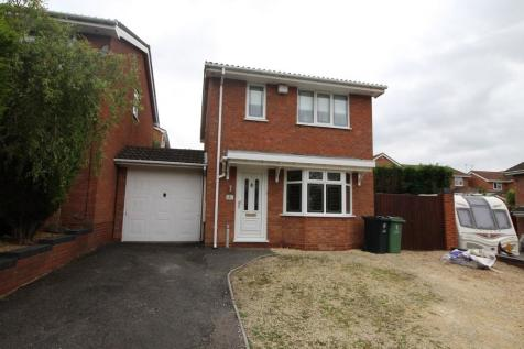 Wexford Close, Milking Bank, Dudley, West Midlands, DY1. 3 bedroom detached house